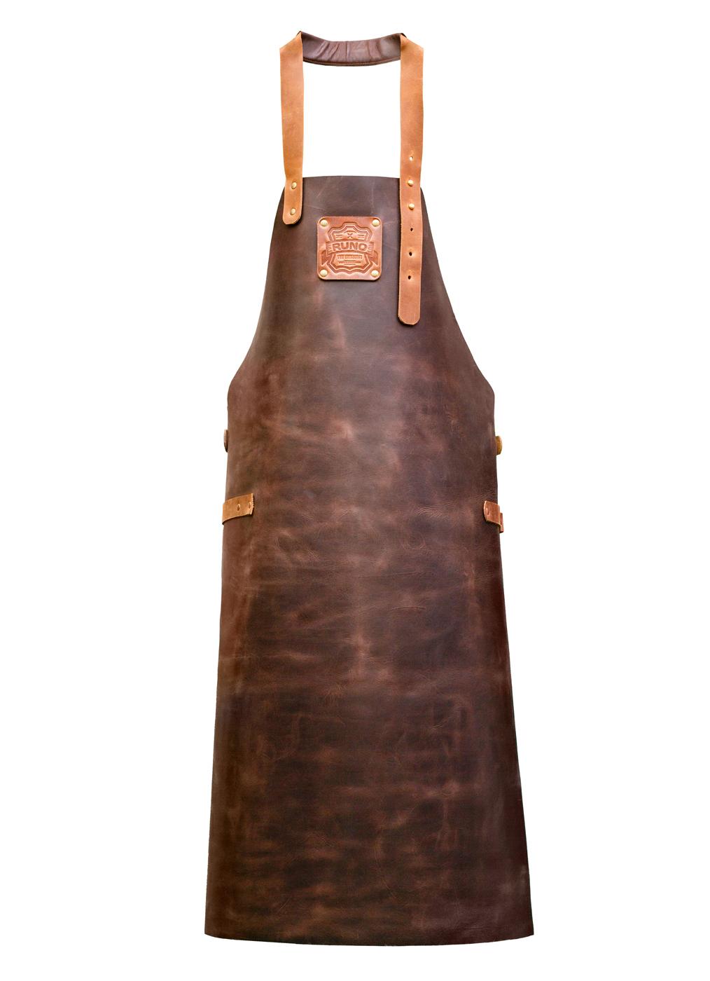 Фартук Buffalo коричневый (толстая кожа)