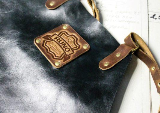 нанесение лого на фартук